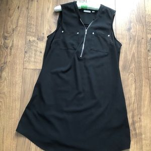 NEW YORK AND CO DRESS SIZE LARGE BLACK